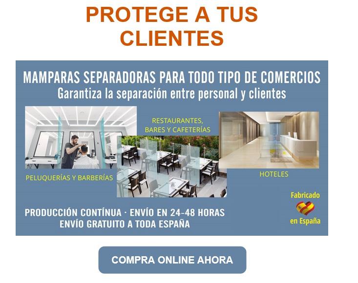 mamparas separadoras de espacios proteccion covid19