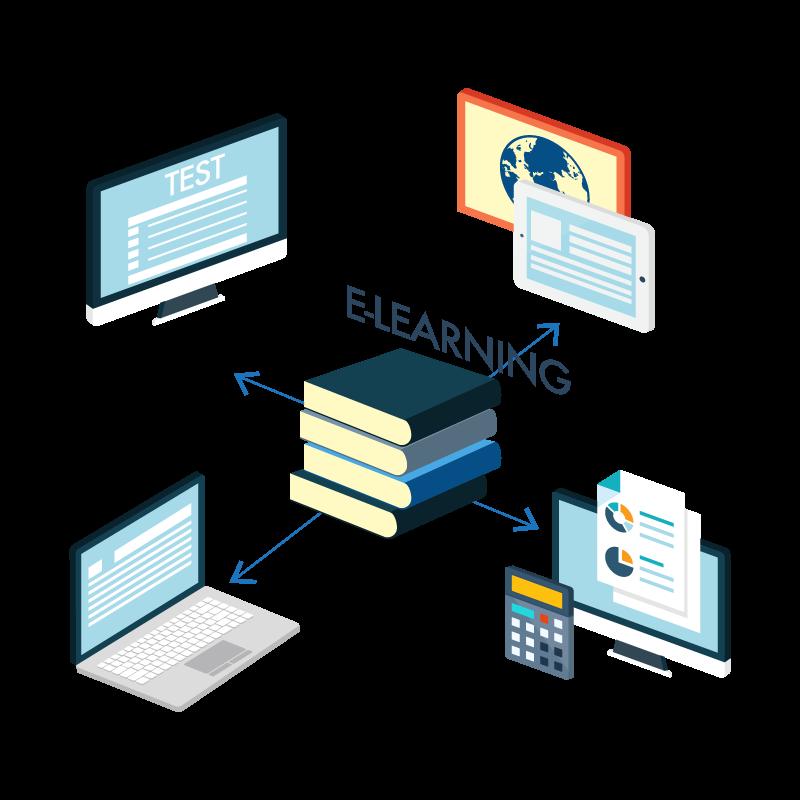 diseño de paginas web para venta de cursos online e-learning