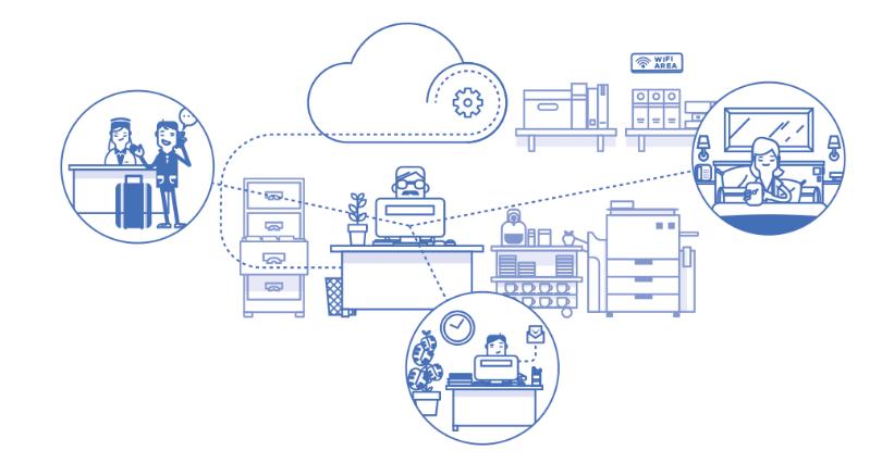 esquema de end point proteccion para equipos de su negocio para empresas y autonomos