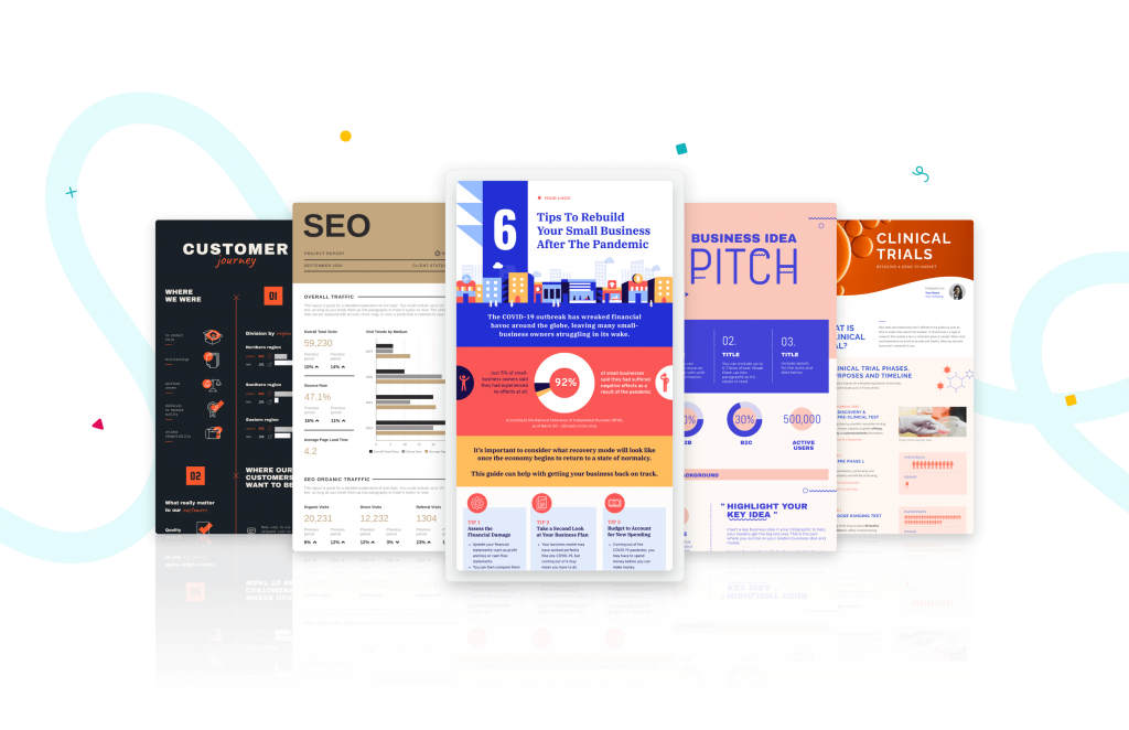 infografias para todos los sectores y negocios