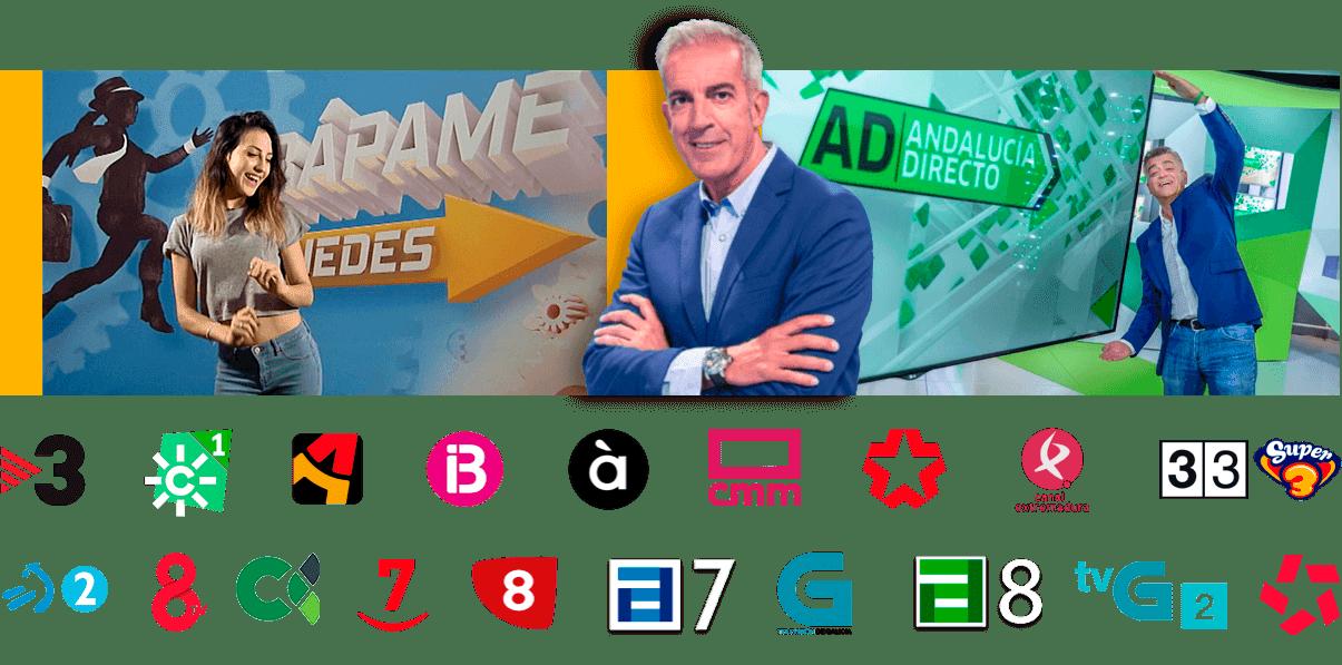 canales autonomicos en la plataforma de television Online TiviFy