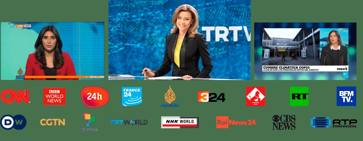 Canales Internacionales e Informativos en la plataforma de television online TiviFy