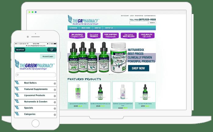diseño de paginas web para farmacias
