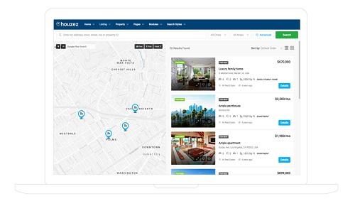 Diseño de paginas web para inmobiliarias Sistema de Geolocalización de Inmuebles Avanzado