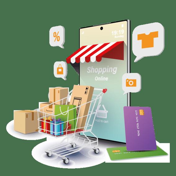 Diseno creacion de tiendas online ecommerce.