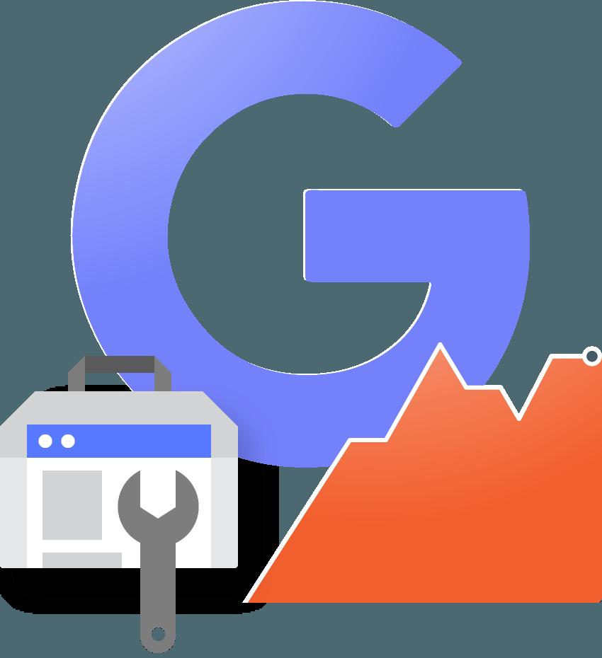 diseño web conectado a google tools y redes sociales pixel de facebook y google tag