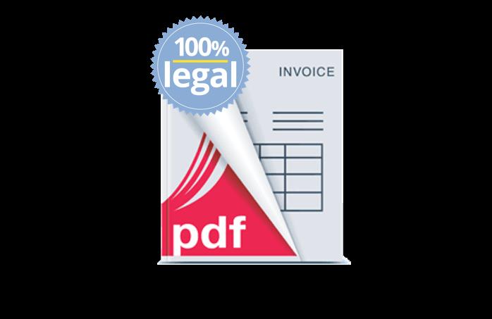 facturas legales en su pagina web de delivery o reparto a domicilio